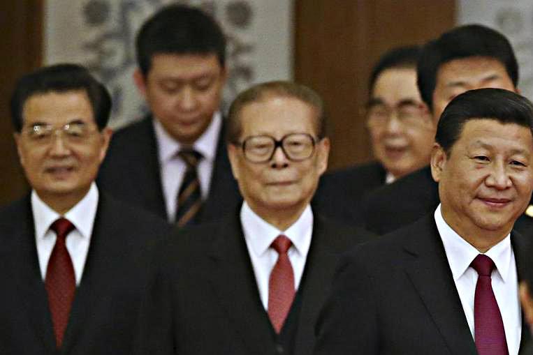Trung Quốc giải thích việc dẹp bia thư pháp của Giang Trạch Dân 1