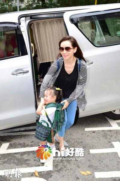 Hoa hậu TVB hạnh phúc cùng con gái dù làm mẹ đơn thân 1