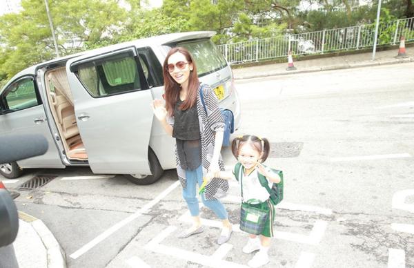 Hoa hậu TVB hạnh phúc cùng con gái dù làm mẹ đơn thân 3