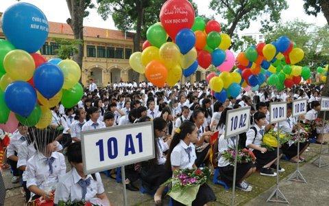 Sáng nay, học sinh trên cả nước khai giảng năm học mới 1