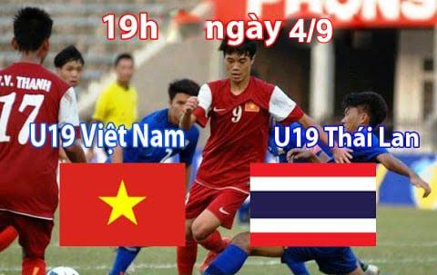 Trực tiếp bóng đá U19 Việt Nam vs U19 Thái Lan 19h ngày 4/9 1