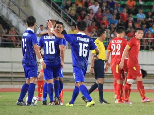 Thua đậm Thái Lan, U19 Việt Nam tan mộng vô địch giải ĐNÁ 1