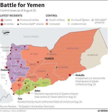 Xem siêu pháo Caesar của bộ binh Arab công phá phiến quân Yemen 1