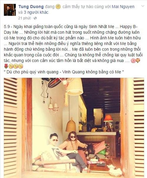Facebook sao Việt: Sao Việt hào hứng đưa con đi khai trường 4