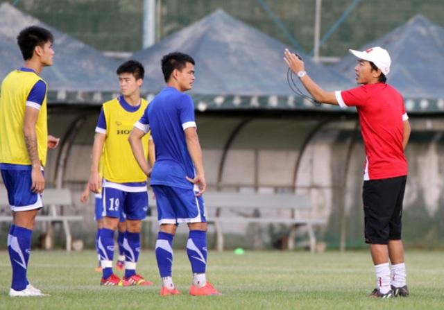 ĐT Việt Nam tích cực tập luyện trước trận chiến với Đài Loan 7