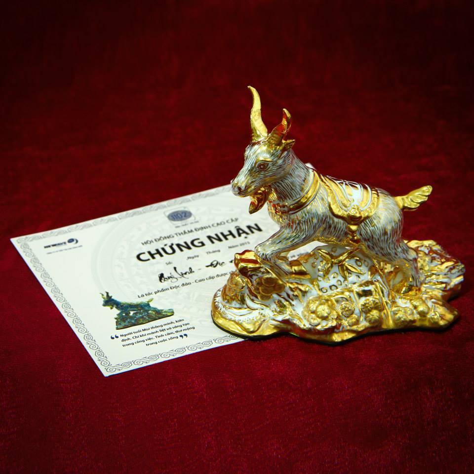 Hình ảnh Tượng vàng may mắn Quý Linh- Bí quyết làm chủ vận may của người thành đạt số 3