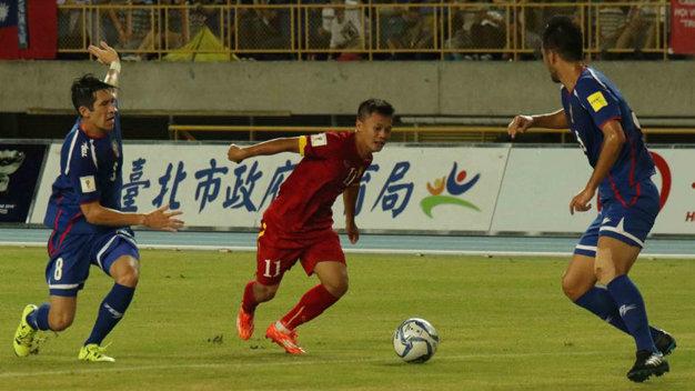 ĐT Việt Nam giành chiến thắng nhọc nhằn trước Đài Loan 1