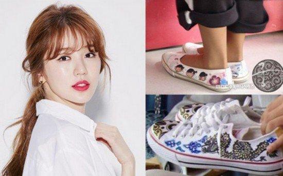 Những trang phục của Yoon Eun Hye bị cho là đạo nhái 3