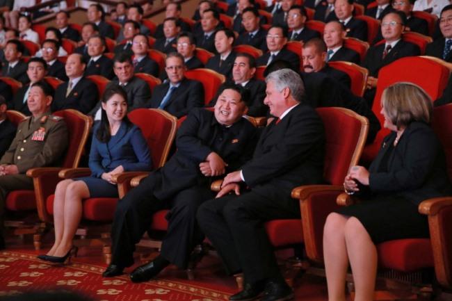Kim Jong-un lần đầu tiếp một lãnh đạo nước ngoài sau 2 năm 1