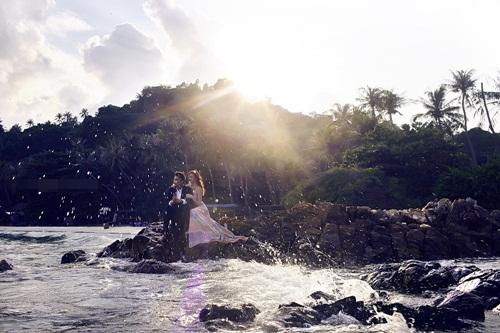 Hé lộ ảnh cưới của ông trùm hoa hậu Mã Siêu và nữ tiếp viên hàng không 1