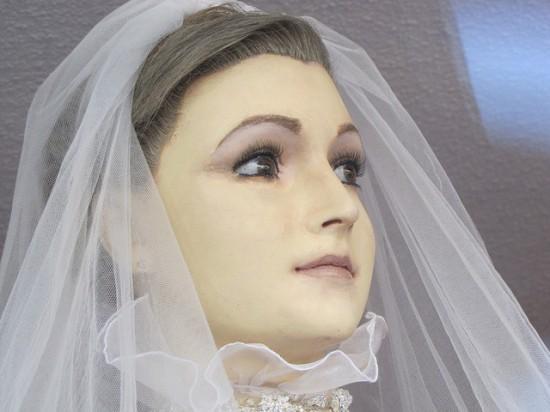 Mannaquin cô dâu ở Mexico bị đồn là xác ướp 1