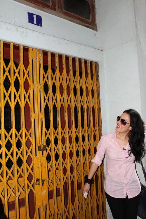 Thu Phương giản dị về thăm nhà cũ tại Hải Phòng 1