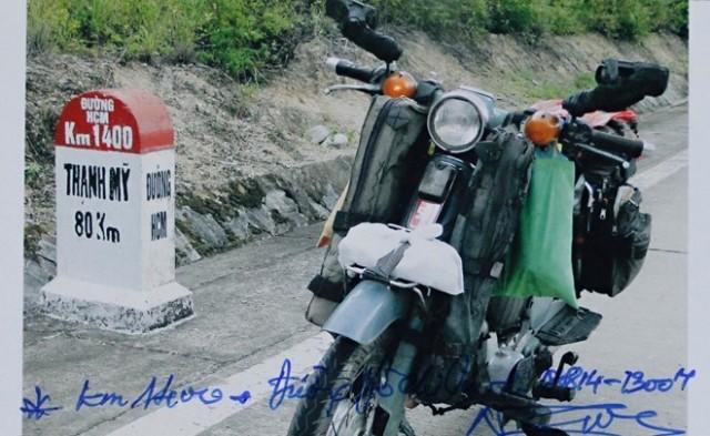 Cụ ông 85 tuổi phượt xuyên Việt bằng xe máy cà tàng 10