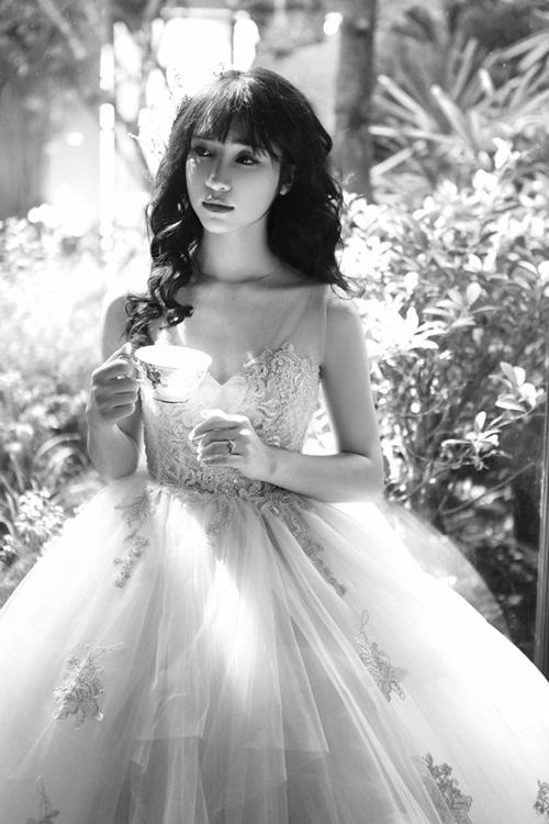 Hòa Minzy xinh như công chúa sau ồn ào scandal tình cảm với Công Phượng 5