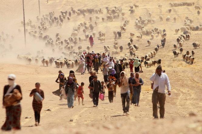 """Khủng hoảng nhập cư châu Âu: Mỹ sẽ """"mở rộng cửa"""" với 10.000 nạn dân Syria 1"""
