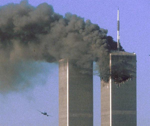 Những bức ảnh đáng sợ trong vụ khủng bố 11/9 2