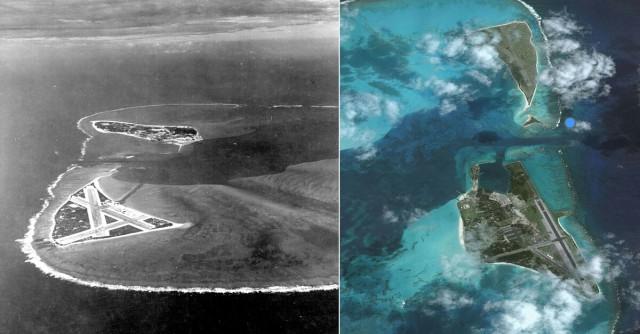 Những chiến trường tàn khốc trong Thế chiến II xưa và nay 5