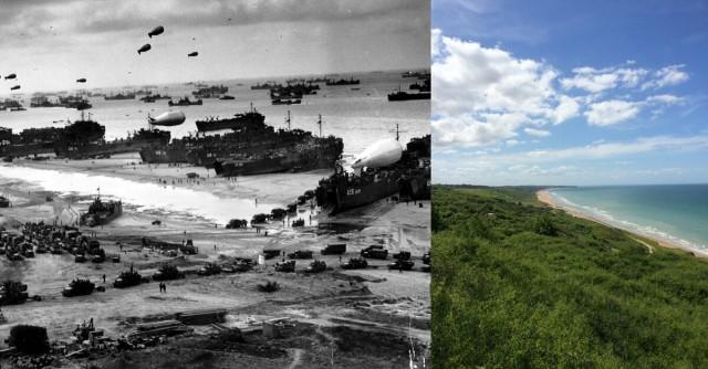 Những chiến trường tàn khốc trong Thế chiến II xưa và nay 7