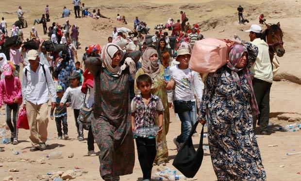 Những nước nào đang nhận và không nhận người tị nạn Syria? 1