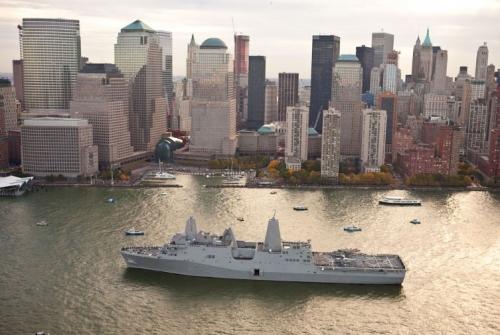 Sức mạnh chiến hạm làm từ thép của tòa tháp bị tấn công ngày 11/9 4