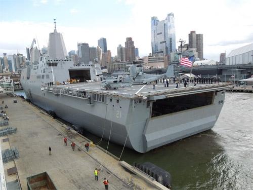 Sức mạnh chiến hạm làm từ thép của tòa tháp bị tấn công ngày 11/9 5