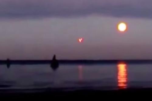 Phương Tây loan tin vật thể bí ẩn xuất hiện trên biển Baltic 1