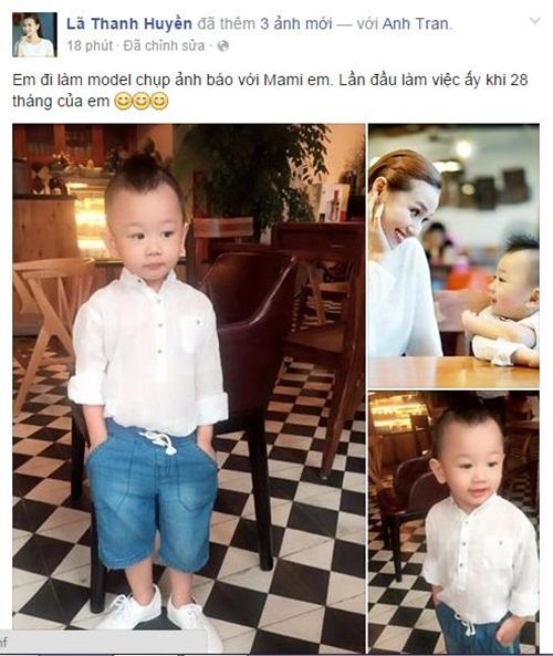 Facebook sao Việt: Phan Hiển khoe ảnh hồi nhỏ giống con trai 4