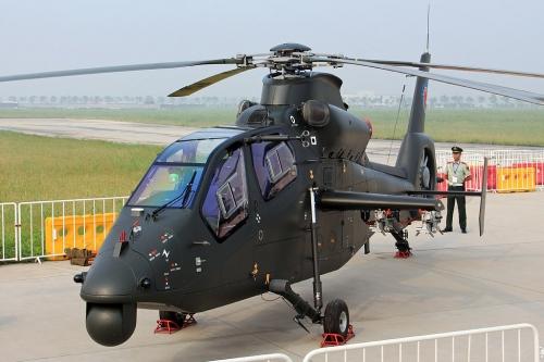 Trung Quốc phát triển trực thăng tấn công có khả năng tàng hình 1