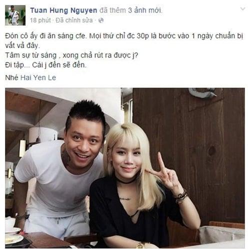 Facebook sao Việt: Phan Hiển khoe ảnh hồi nhỏ giống con trai 11