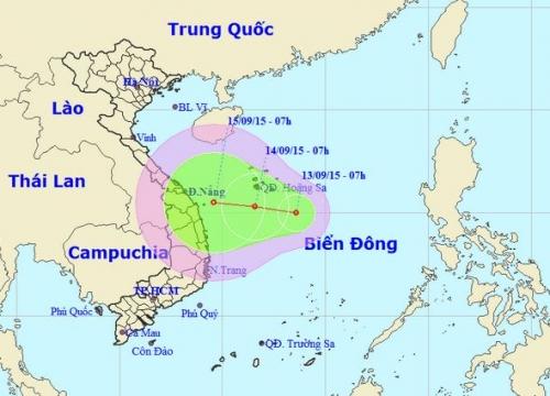 Hình ảnh Tin áp thấp nhiệt đới trên biển Đông số 1