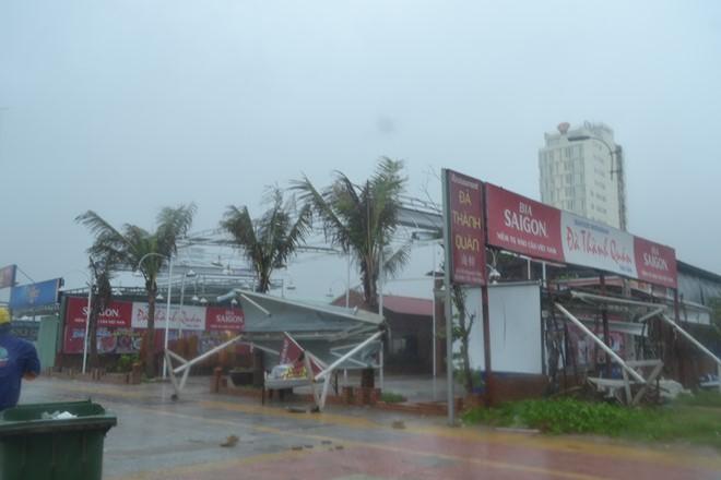 Miền Trung mưa lớn sau bão số 3 1