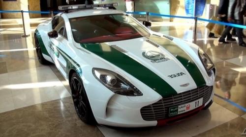 Cảnh sát Dubai gây choáng với dàn xe sang tiền tỷ 5