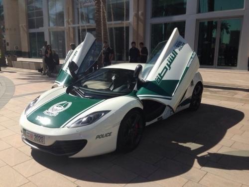 Cảnh sát Dubai gây choáng với dàn xe sang tiền tỷ 8