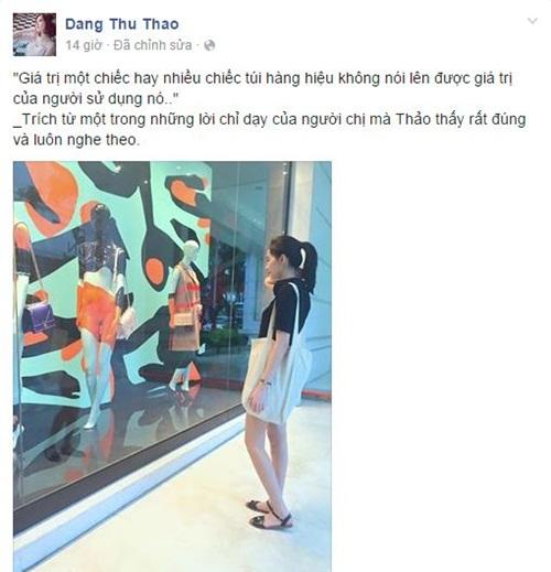Facebook sao Việt: Mai Phương Thúy kém sang với áo phông, quần short 5