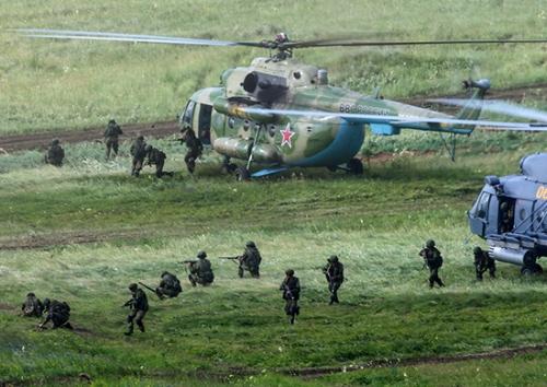 Nga tập trận 'Trung tâm 2015' với quy mô khủng 3