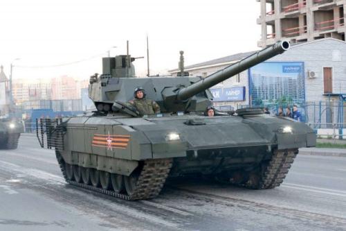 Xem siêu tăng Armata phô diễn sức mạnh 2