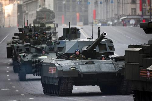 Xem siêu tăng Armata phô diễn sức mạnh 5