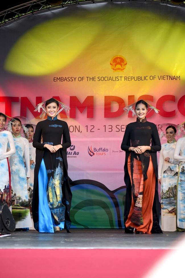 'Hoa hậu đẹp nhất châu Á' mờ nhạt khi xuất hiện cùng Á hậu Huyền My 4