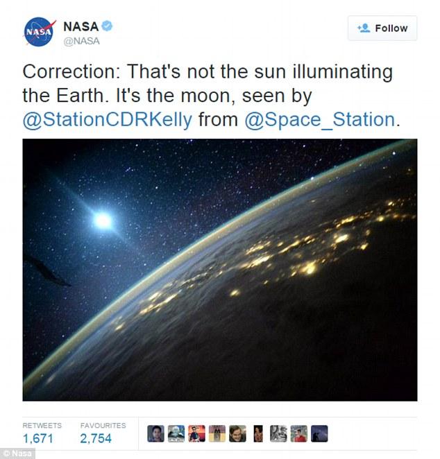 NASA 'muối mặt' vì nhầm lẫn Mặt Trăng thành Mặt Trời 2