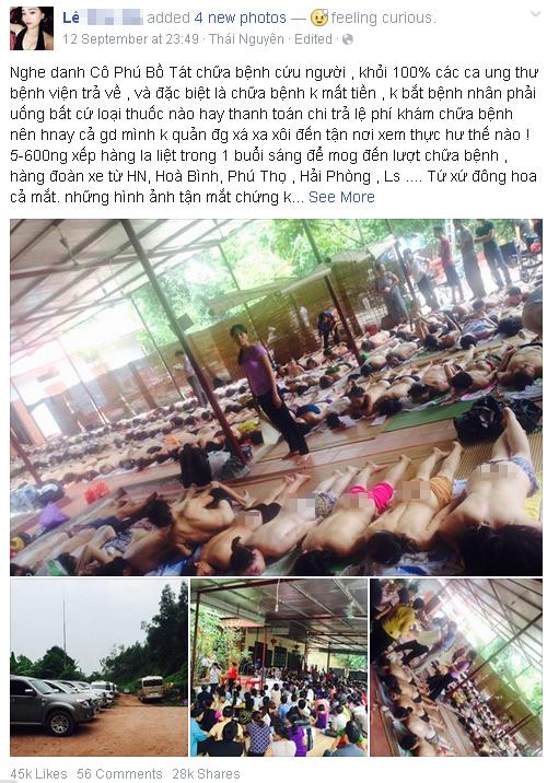 'Chu Văn Quềnh' kể về trải nghiệm chữa bệnh 'cô Phú'  1