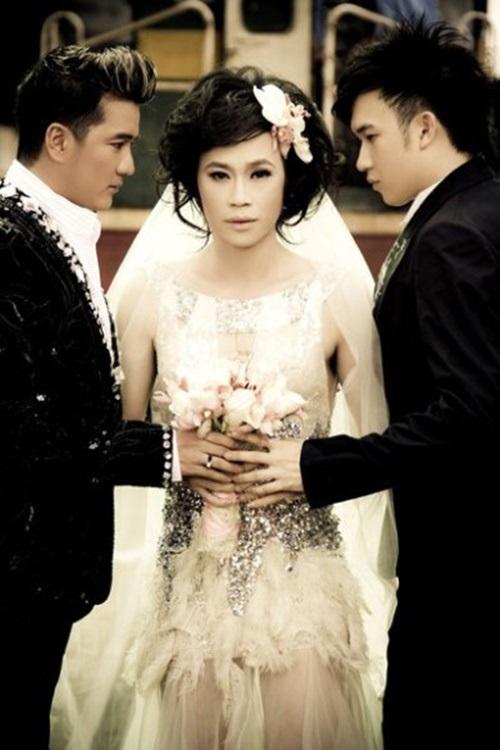 Những màn giả gái ấn tượng của sao nam Việt 1