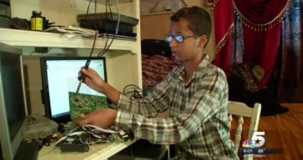 'Đại gia' mỹ chào mời cậu bé Hồi giáo chế đồng hồ bị nhầm là bom 4