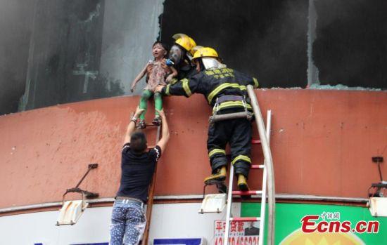 Trường mẫu giáo chìm trong biển lửa, 109 trẻ nhập viện 2