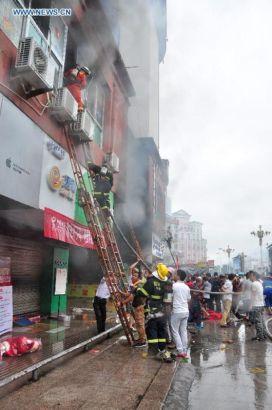 Trường mẫu giáo chìm trong biển lửa, 109 trẻ nhập viện 4