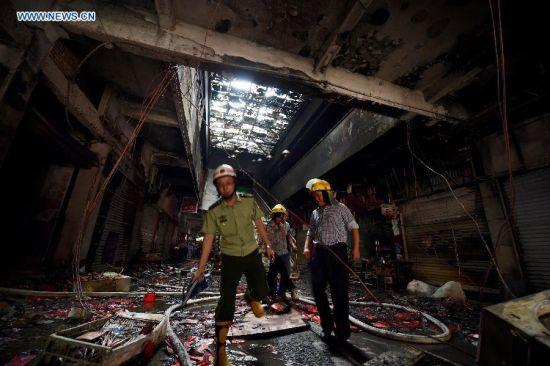 Trường mẫu giáo chìm trong biển lửa, 109 trẻ nhập viện 9