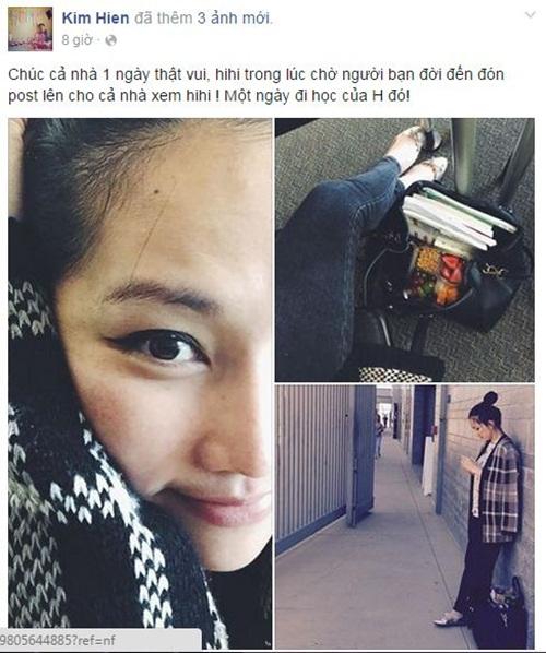 Facebook sao Việt: Hương Tràm trẻ trung trên đất Mỹ 6