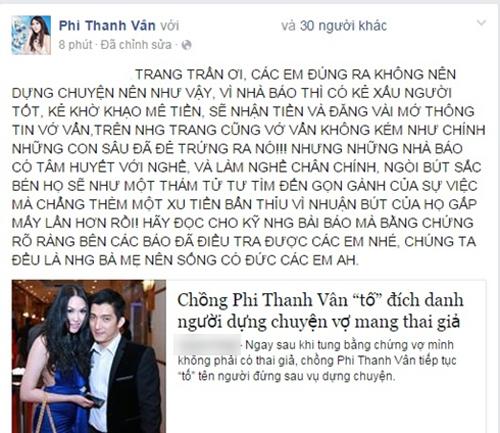 Trang Trần đáp trả gay gắt khi bị vợ chồng Phi Thanh Vân tố bịa chuyện 2