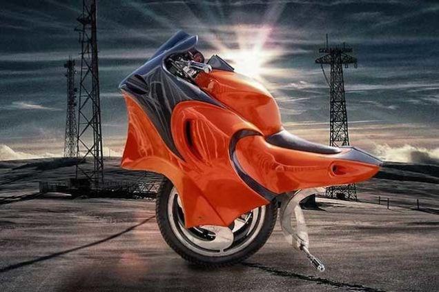 Những mẫu xe mô tô hình dáng kỳ dị nhất thế giới 5