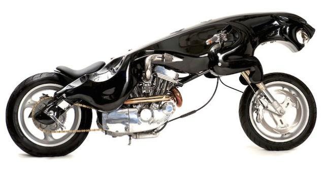 Những mẫu xe mô tô hình dáng kỳ dị nhất thế giới 2