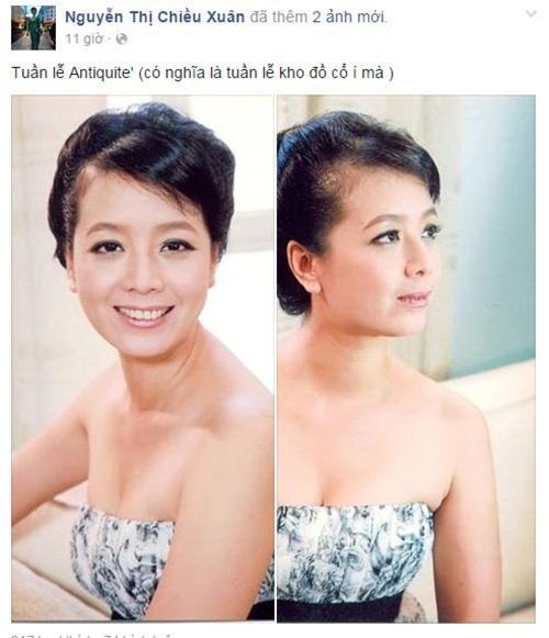 Facebook sao Việt: NSƯT Chiều Xuân trẻ trung ở tuổi 48 1